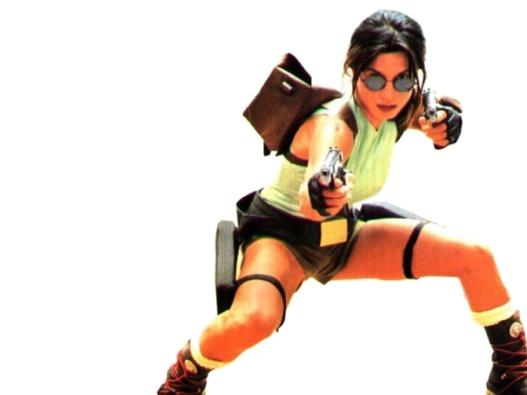 Rhona Mitra as Lara Croft